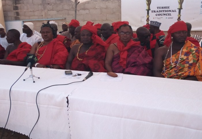 House of Chiefs President Fueling Teshie Chieftaincy Dispute