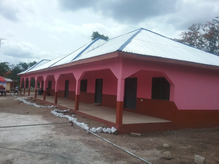 Danyame Health Centre gets new Ward/Laboratory Facility