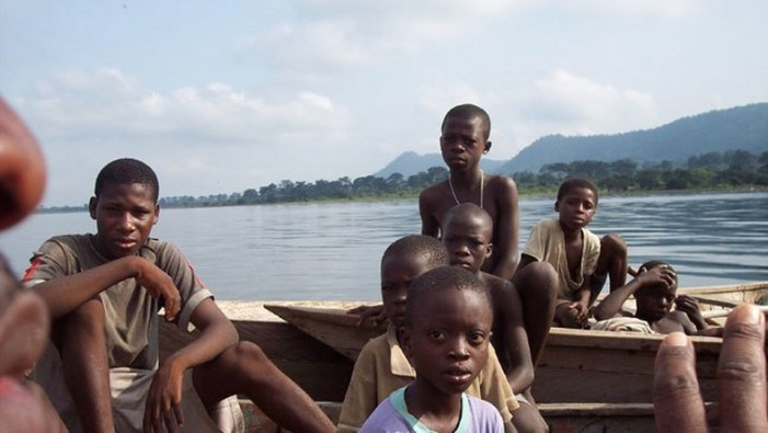 CHRAPS/UEW Spotted Lots of Trafficked Children on the Volta Lake