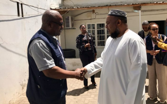 John Mahama leads EISA observers to Mozambican elections