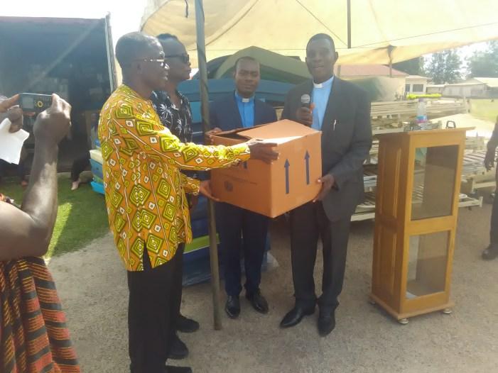 Ghanaian Diaspora Donates Medical Equipment to Dormaa Presbyterian Hospital