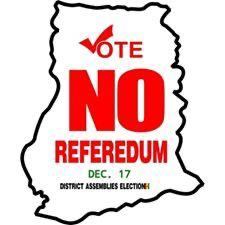 Vote No in Referendum- NDC Declares