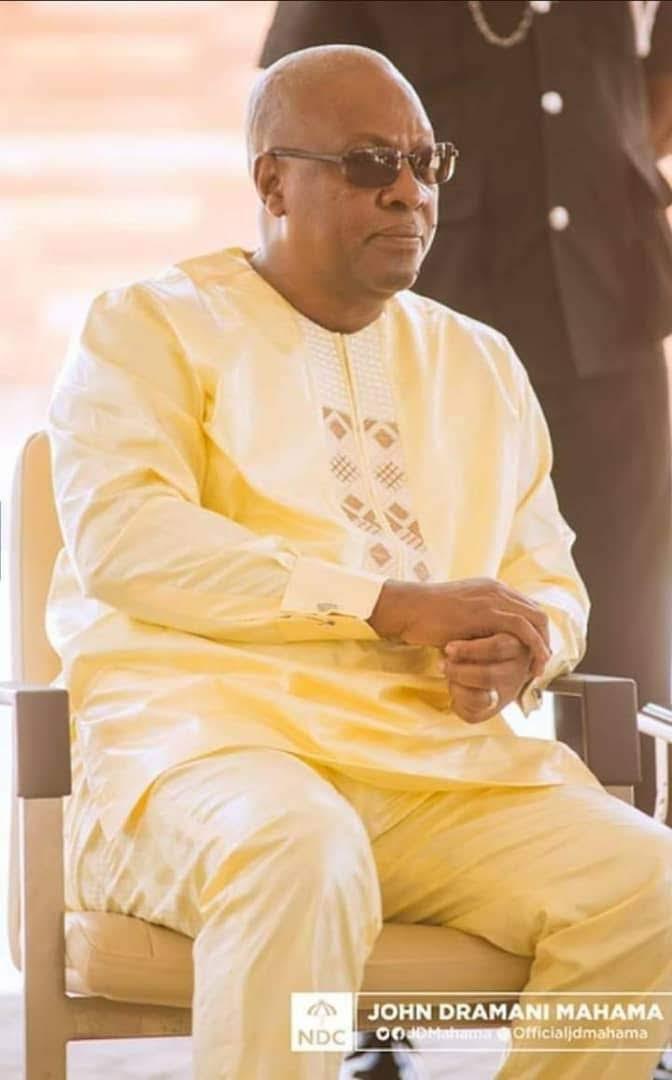 Mahama Salutes Galant Ghanaian Farmers