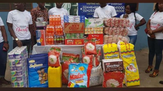 GRASAG Donates to Orphanage Homes