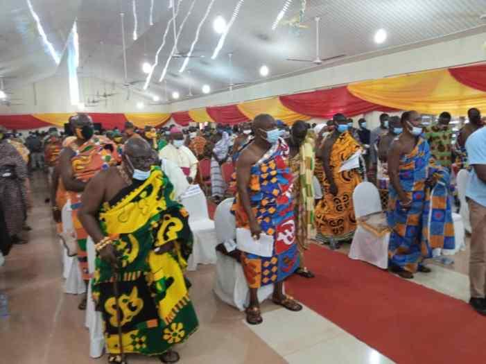 President Akufo-Addo Inaugurates Ahafo Regional House Of Chiefs At Goaso