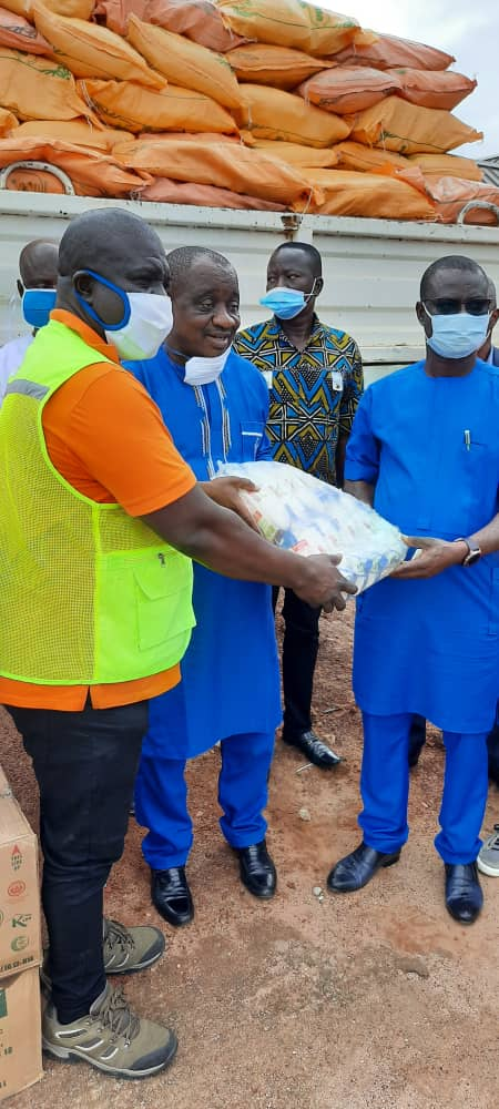 VRA Donates To Flood Victims In North East Region