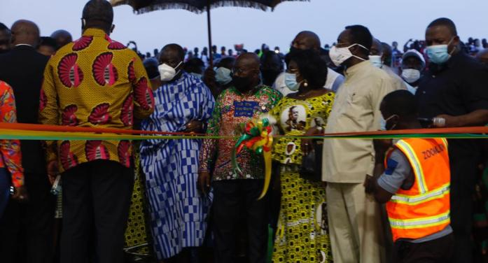 President Nana Akufo-Addo commissions Africa's largest compost & recycling plant in Kumasi
