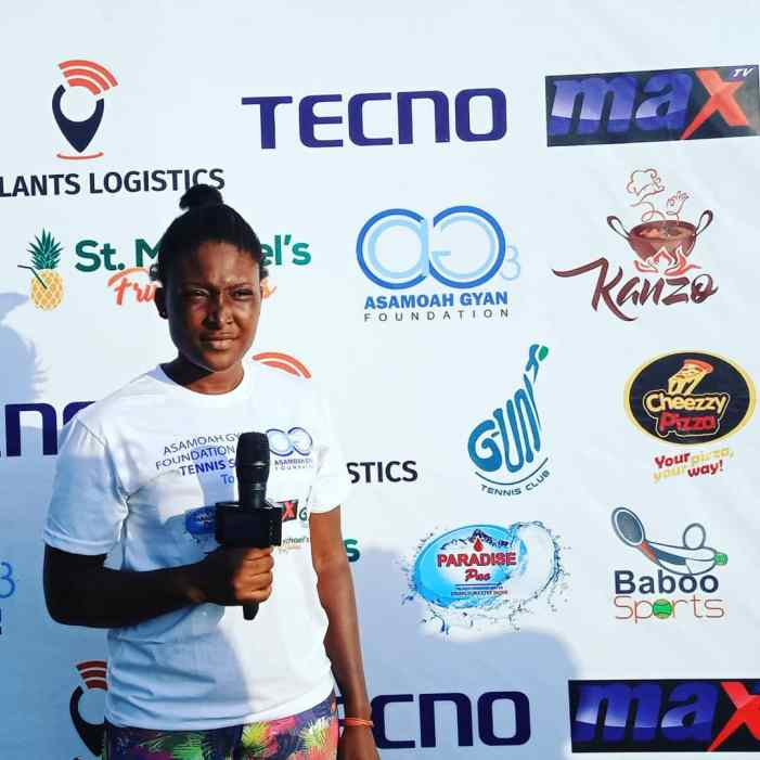 Asamoah Gyan Foundation Launches Tenis Talent Hunt