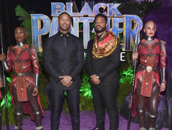 'Black Panther' Premiere Has Fans Super Excited
