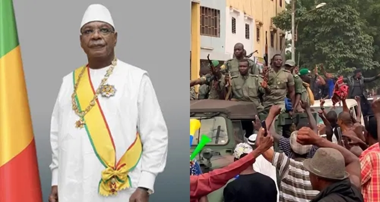 Mutinying Soldiers Detain Mali President, Prime Minister