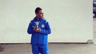 Meet Frederick Gyan the Son Of Asamoah Gyan who plays for Oxford City FC