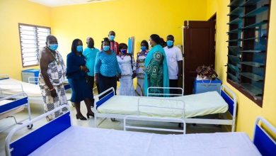 First Lady Rebecca Commissions Kwame Anum Health Centre