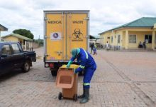 Dr. Kubio Endorses Government and Zoomlion Covid-19 vaccination Medical waste management