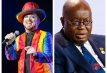 British G!y Singer Creates Song For Akufo-Addo To Pressure Him To Legalize LGBT In Ghana