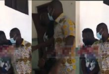 Photos of Top NPP Official Brandishing Gun In Public Pops Up – Fans Call on IGP to Arrest Him Like Medikal