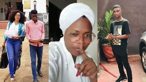 Mzbel's Eyes Was Filled With Tear As Her Adopted Son Was Taken Away :Advices Young Ladies To Keep Babies When There Is Pregnancy