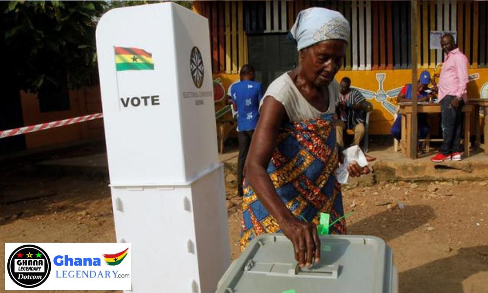 Ghanaians Cast Their Balot Today