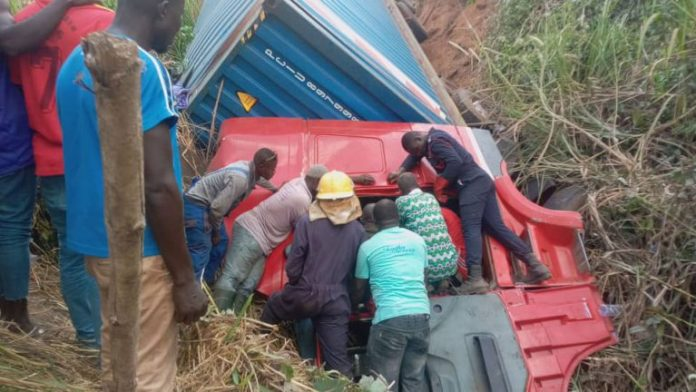 Trailer Mate Dies After Been Trapped For 16 Hours