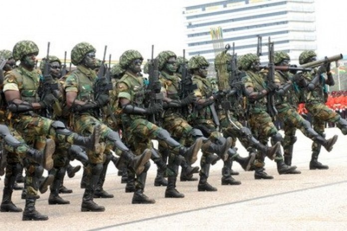 Ghana Military And Police Crash Over A Cell Phone