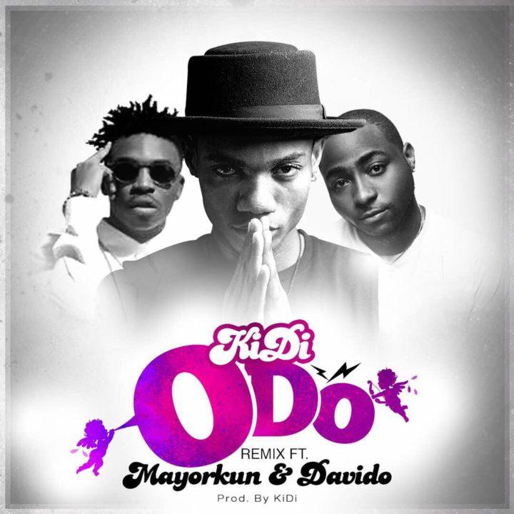 Music: KiDi – Odo (Remix) ft Mayorkun & Davido