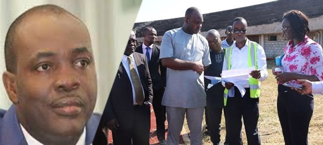 Isaac-asiamah-youth-and-sports-minister-inspects-university-of-ghana-stadium-ghanamansports
