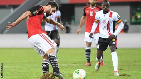Egypt tops World Cup qualifying group