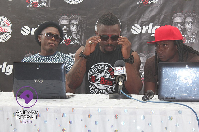 Photos]: R2bees launches 'Refuse to be Broke – Da Revolution