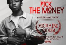 Magnom - Pick The Money (Migrane Riddim) (Hosted by Dj Shiwaawa)