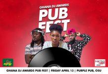 Ghana DJ Awards19: Pub Fest to hit Purple Pub this Friday