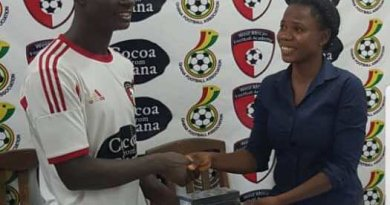 Andrews Ntim named Man of the Match in Hearts-WAFA draw