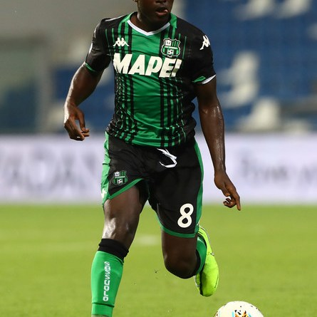Crocked Alfred Duncan set to miss Sassuolo encounter against Sampdoria