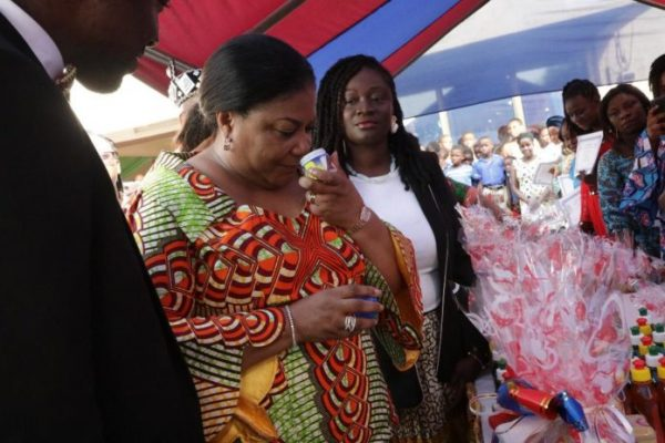 Use acquired skills to impact world positively – Ghana's First Lady to graduates