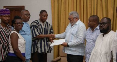 NDC, others petition Rawlings over new register