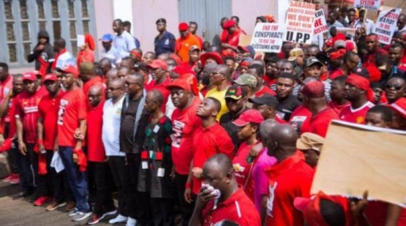 Breaking; Inter-Party Resistance resumes demo against New Voters' Register