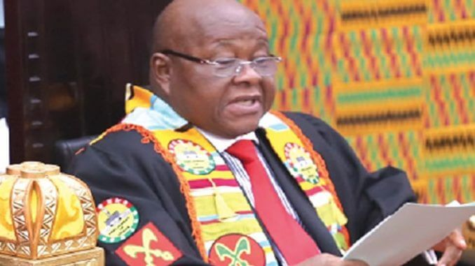 Let's Leave a Mark in the History of Ghana's Parliament - Speaker Urges MPs