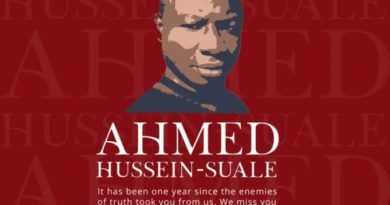 Ahmed Hussein-Suale: Ghana must expedite investigation into journalist's killing