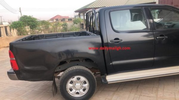 Baffour Awuah: Official vehicle of former GHS boss stolen