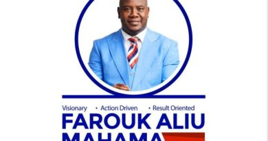 NPP Parl. Primaries: Aliu Mahama's Son counting on his Goodwill