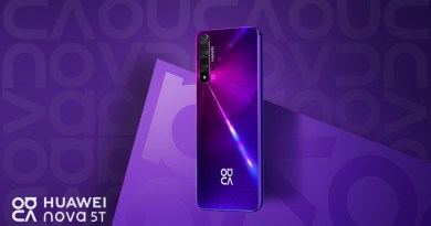 Dazzling four-camera HUAWEI nova 5T launched in Ghana