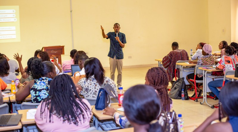Prince Akpah delivers Guest Lecture at Central University
