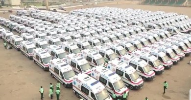 Ambulance to Population Ratio: 243 more needed to meet WHO Standard