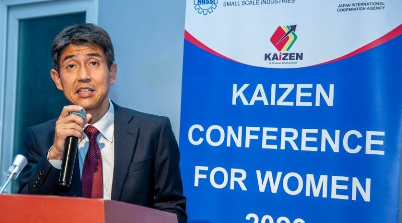 National Kaizen Project by JICA and NBSSI is Empowering Women Economically – JICA Chief Representative