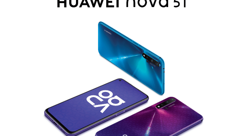 The wait is over: HUAWEI nova 5T with 5AI cameras and a solid performance is now available in Ghana