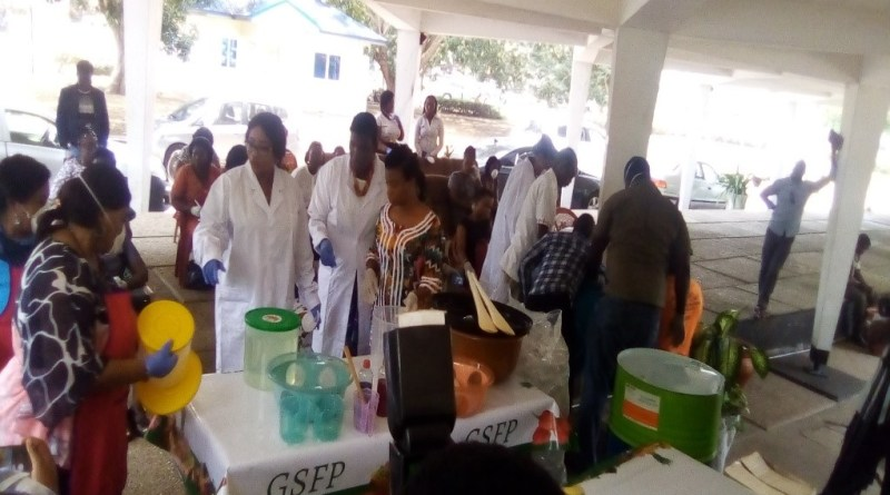 COVID-19 OUTBREAK: Gender Ministry Demonstrates the Use of Hand Sanitizers