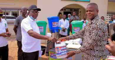Covid-19: Northern Regional Minister donates to Institutions in Nanumba North District