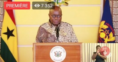 Confusion Rocks Akufo-Addo over Covid-19 Public Address