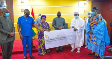 Ghanaian Muslims donate GHC130K to help fight COVID-19