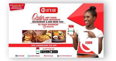 Ghanaians Commend 'Let's Eat' Virtual Restaurant Platform