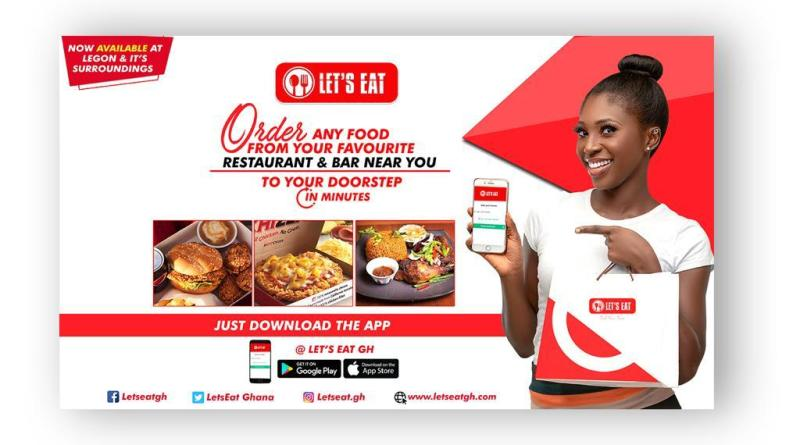 Ghanaians Commend 'Let's Eat' Virtual Restaurant Platform