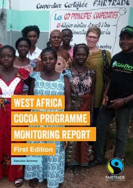 Fairtrade Reports on Programme to Strengthen West Africa Cocoa Cooperatives